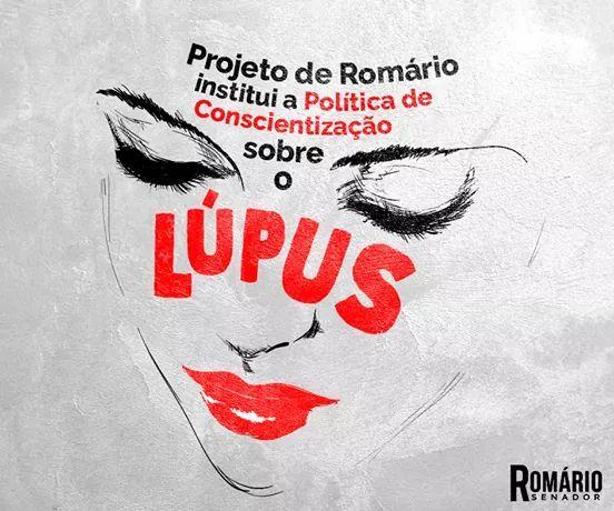 Proj Romário ( Institui Política de Conscientização sobre o Lúpus