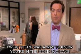 good old days the office gif