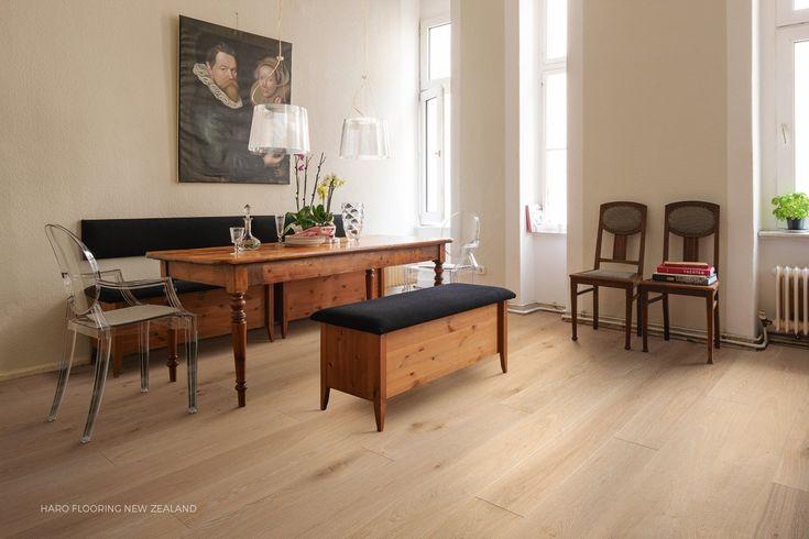 Oak Creme White Limewashed Timber Flooring on ArchiPro