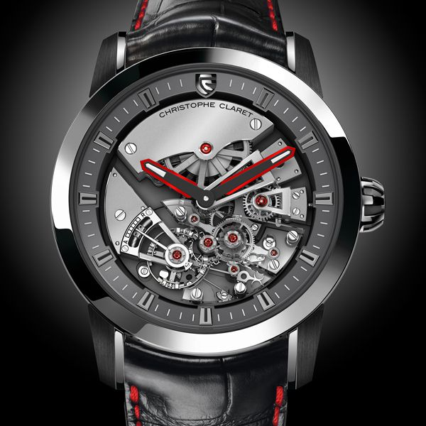 CHRISTOPHE CLARET Maestoso Traditional pivoted detent escapement with constant force Art in the service of time (See more at En/Fr/Es: http://watchmobile7.com/articles/christophe-claret-maestoso) (6/7) #watches #montres #relojes #christopheclaret #maestoso