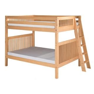 Check out the Camaflexi C171 Twin over Full Bunk Bed with Mission Headboard and Lateral Angle Ladder priced at $1,110.34 at Homeclick.com.