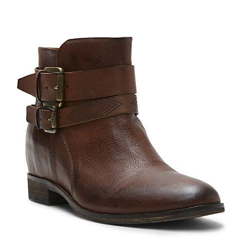 Ugh I just... I really feel like my life would be better with them in it.  (Steve Madden, Karena Brown Leather Booties)