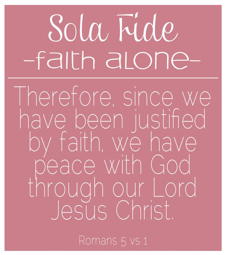 Reformation Day {sola fide} - Little Bit of Thyme