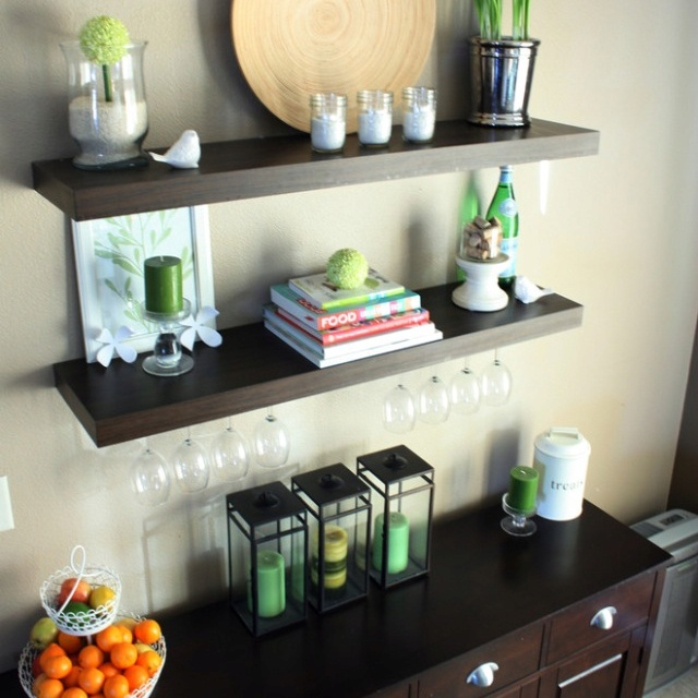 Eclectic Kitchen By Iheartorganizing. Find This Pin And More On Dining Room  Storage ...