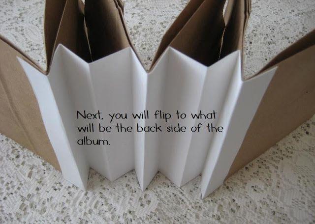 Jessica Rodarte: paper bag scrapbook album tutorial