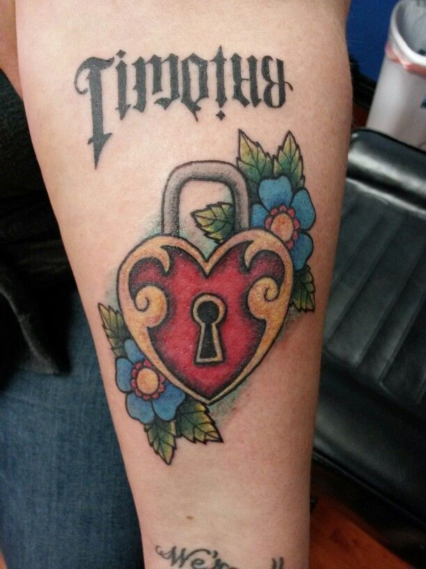 Valentines tattoo #timothy #heartlocket
