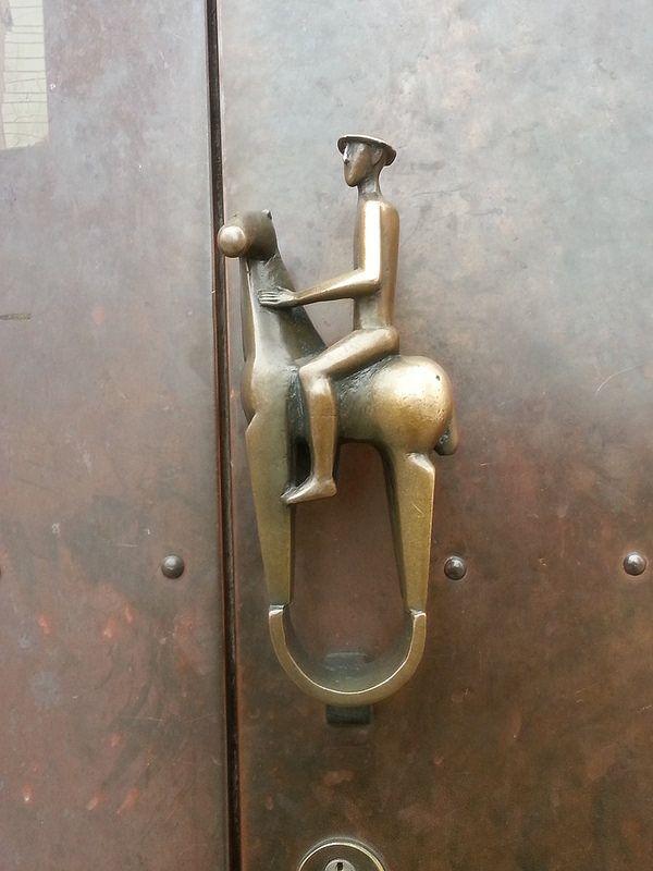 Türklinke,Landratsamt Mainburg/door handle   by regaasmuss