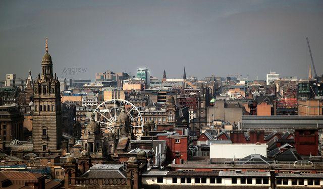 Glasgow city centre skyline Find us on: https://www.facebook.com/TcTrips