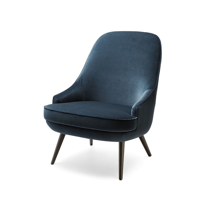 The new elegance. The designers had presumably imagined a shared aperitif or a conversation in the salon when they came up with this small armchair in 1957.