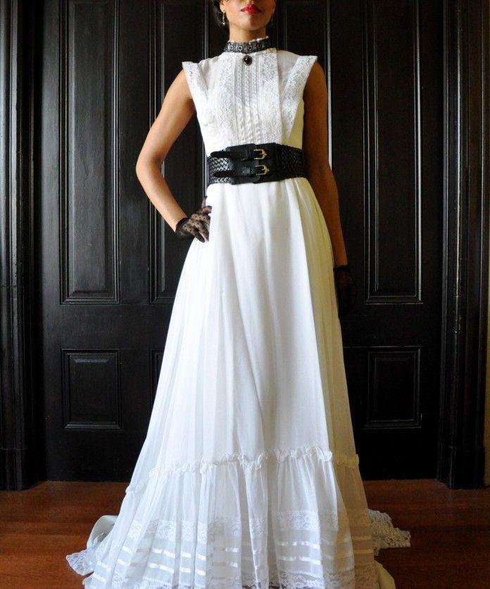 Steampunk Wedding Gowns: Steampunk Wedding Dress Etsy