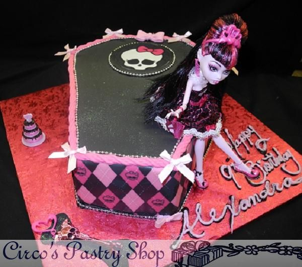 coffin cake template - best 25 7th birthday cakes for girls ideas on pinterest