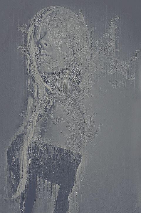 Creepy Artworks by Leslie Ann O'Dell http://www.cruzine.com/2013/02/13/creepy-photo-manipulations-leslie-ann-odell/