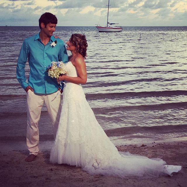 "Charlotte Kilcher on Instagram: ""My son Torrey and wife Dana. Beautiful December wedding in Belize."""