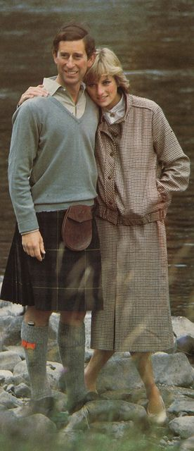 Prince Charles and Princess Diana on their honeymoon 1981. Really Charles you wonder why she exploded. You had a young twenty year-old bride that you left to find her own way, while you indulged yourself in your books, your painting, your fishing and YOUR friends. Exploded any woman would have!!