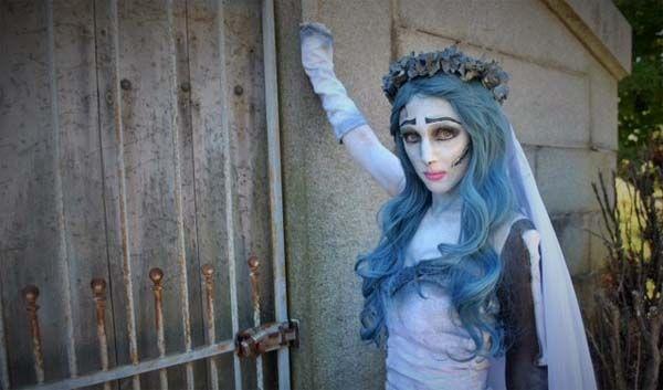 Resultado de imagen para novia cadaver disfraz