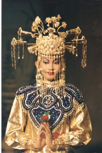 Betawi wedding headdress - INDONESIA