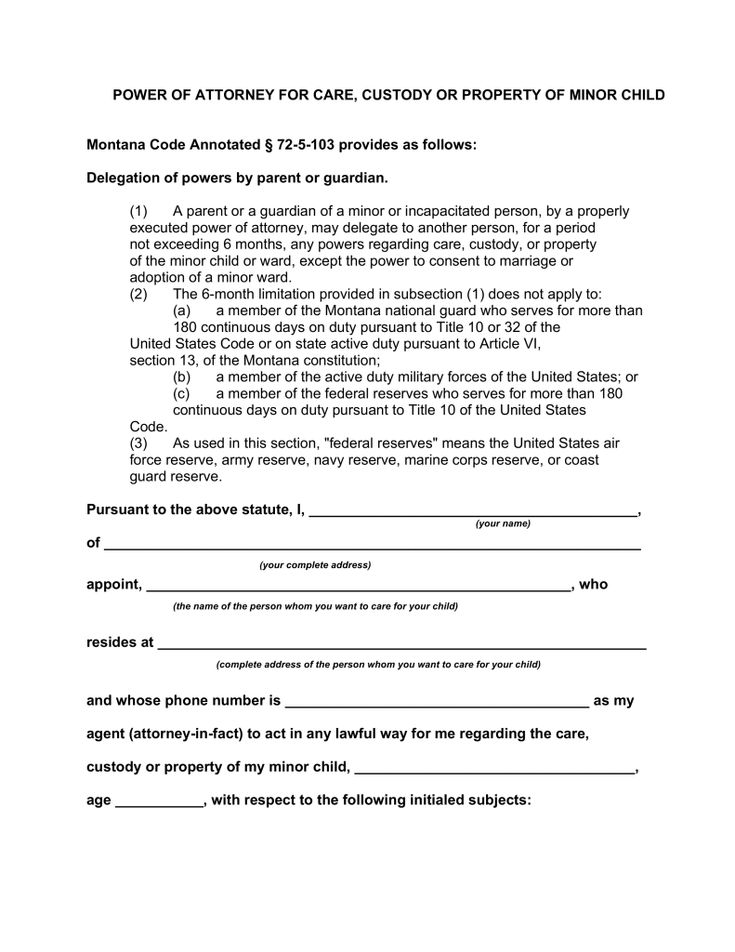 The 25+ best Power of attorney form ideas on Pinterest Power of - free child travel consent form template