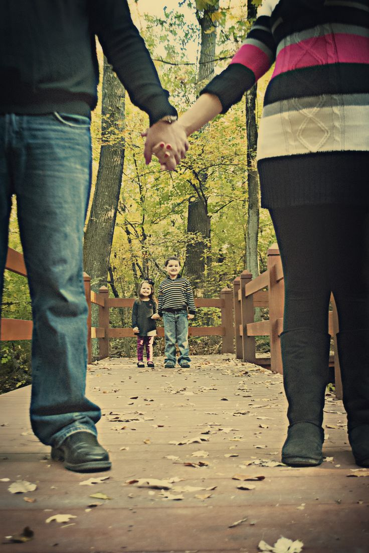 Possible concept for Broken Family Concentration.   How : Each family member walking in a different path.