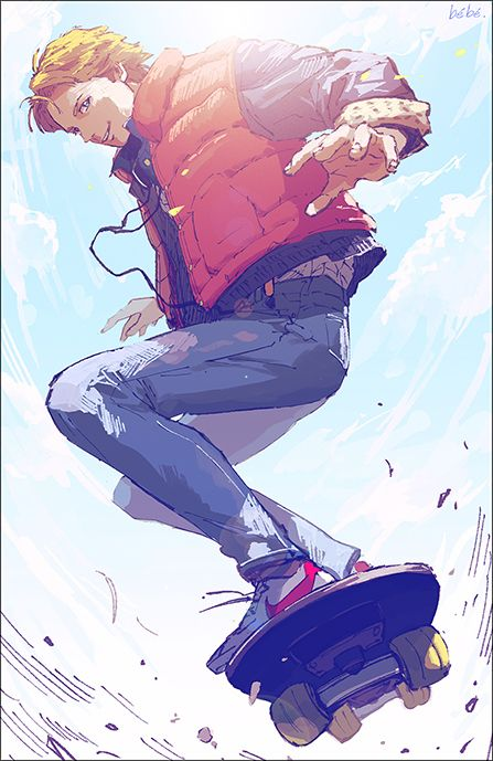 Marty McFly by ベベヲ