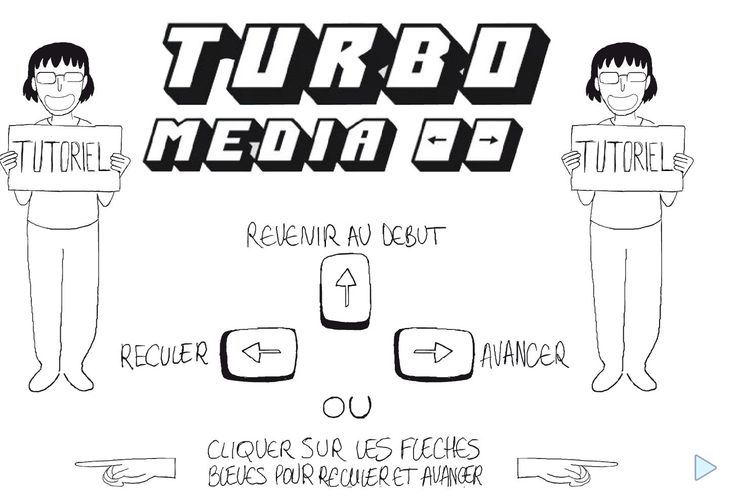 The main reference for the mozaic animated comic strip, the turbo media give to the player the possibility to define his own time control for the comicstrip. this can work with the image creation of Mozaic and the surprise of unlocking next strip
