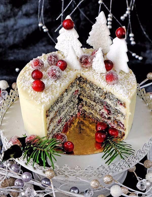 торт на новый год рецепт с фото читала