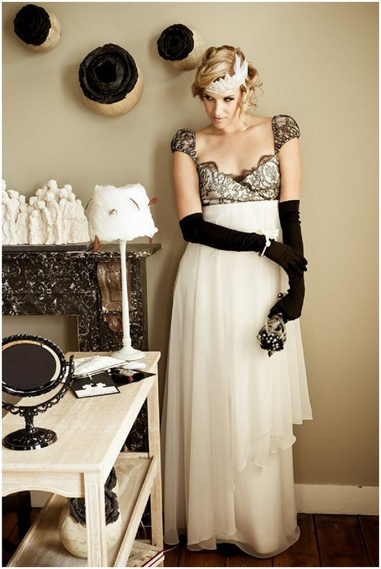 Star Bridal Style Inspired By Movie Es From Films Such As The Artist Breakfast At Tiffanya S Modern Millie And Hello Dolly All Sautoir Et