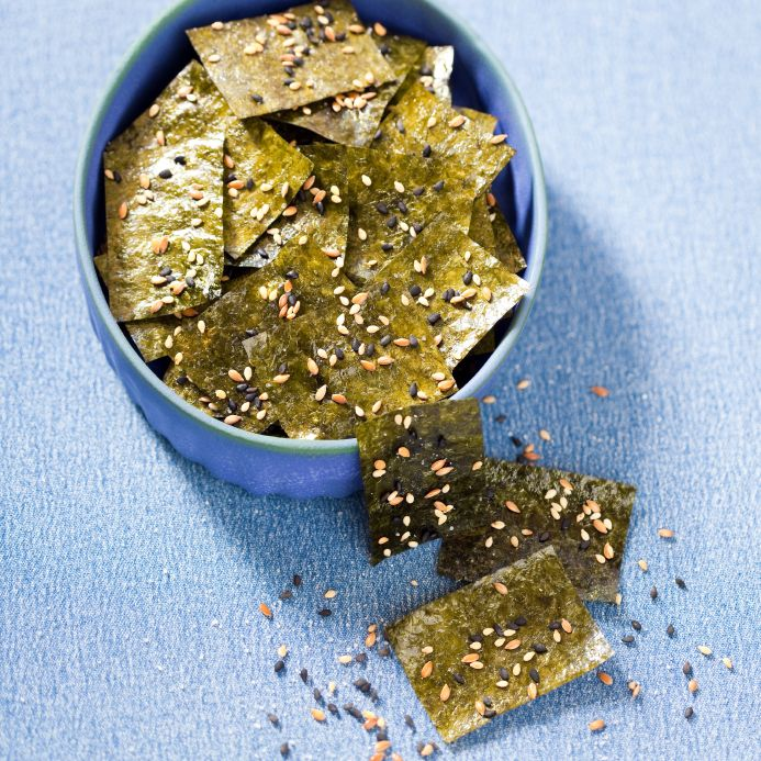 how to make nori chips
