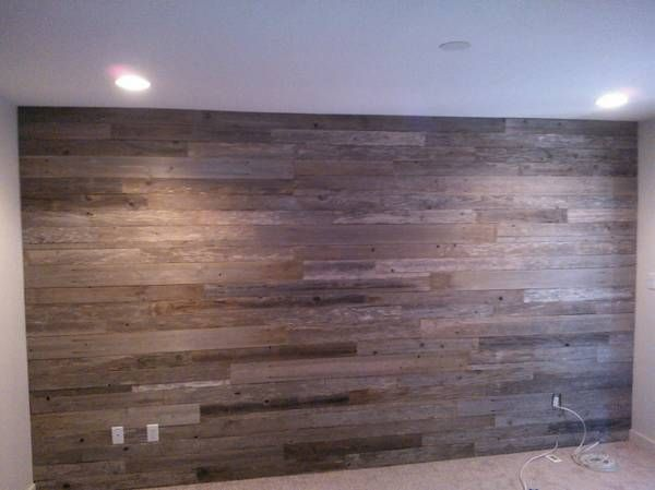 reclaimed wood wall as accent - 19 Best Images About Wooden Feature Walls On Pinterest Wooden