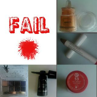 Fail beauty products