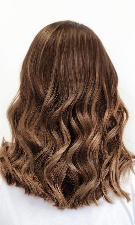 Verona Brown Brown hair color with warm auburn