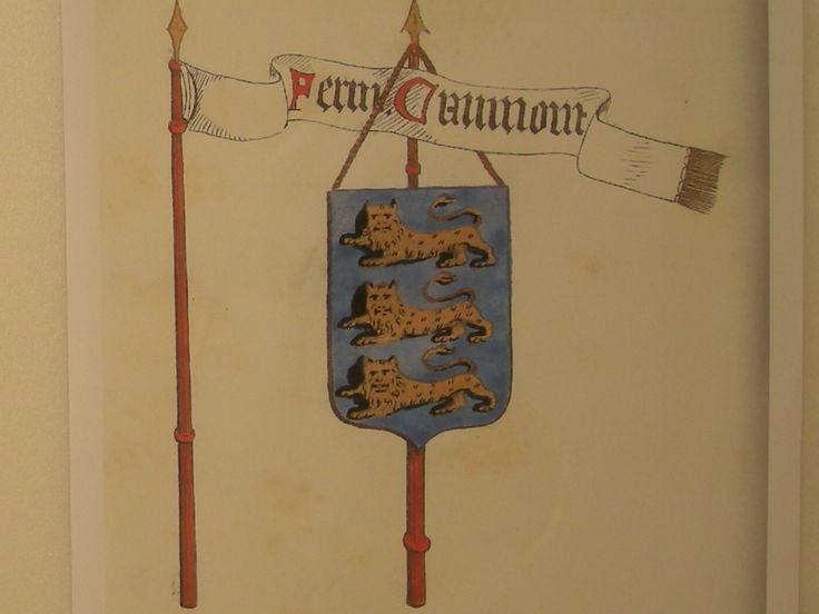 Bannière et armes des seigneurs de Caumont- Caumont d'Adde refusa le mariage entre Arthèmise et Sansas de Nesmond, car il craignait de trouver dans ce futur gendre un contrôleur de sa vie et de ses méfaits. Sansas et Arthémise menaçaient d'en appeler au roi. Cette querelle dit grand bruit dans la province et surtout dans la famille d'Aubigné. Jeanne de Cardilhac était favorable à ce mariage, espérant qu'en affaires le gendre serait plus accommodant que le beau-père.