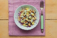 Salada de frango com repolho e abacaxi | Panelinha - Receitas que funcionam