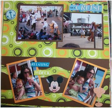 115 best disney cruise scrapbooking images on pinterest alaska disney cruise scrapbook layout by melanie of two boys and one girl pronofoot35fo Image collections