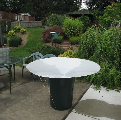 The RainSaucers Rainwater Collection System Is A Patent Pending, Low Cost,  Easy To Deploy Rainwater Harvesting System That Catches Rain Straight From  The ...
