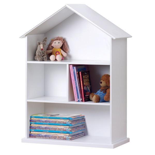 Great Dollhouse Bookshelves Kids Design For Your Reading Room Easy White