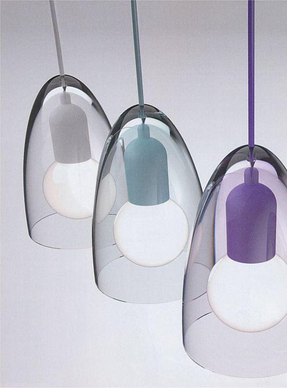 Funky jubi coloured pendants · glass pendant lightceiling