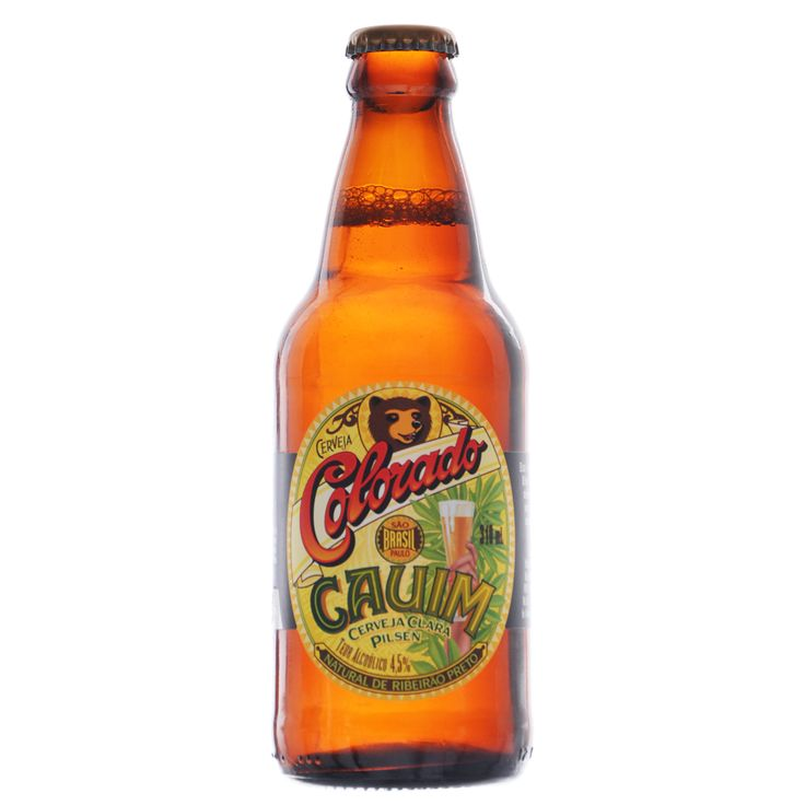 Cerveja Brasileira Light Lager Colorado Cauim 310ml - The Beer Planet