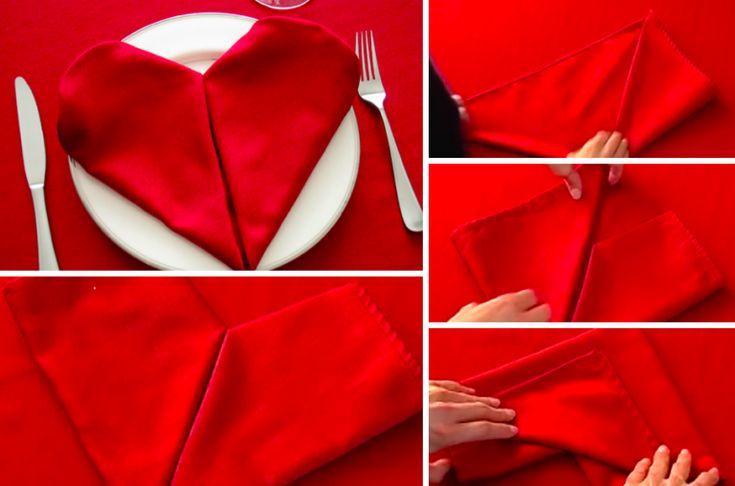 17 meilleures id es propos de pliage serviette coeur sur pinterest si ges d 39 auto propres - Comment plier des serviettes ...