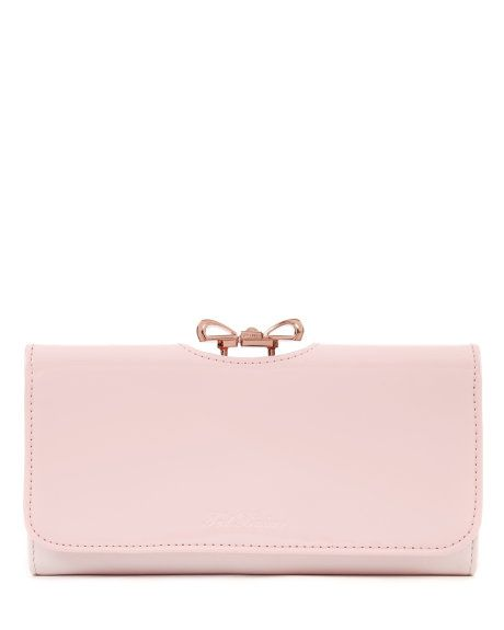 Crystal bow matinee - Light Pink | Purses | Ted Baker