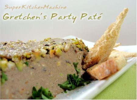 Gretchen's Chicken Liver & Pistachio Paté Recipe » Super Kitchen Machine (Thermomix)
