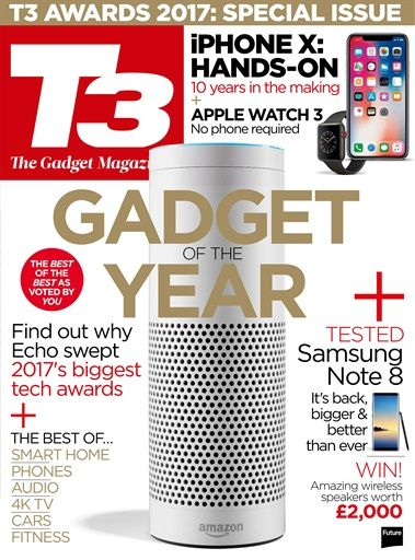 T3 magazine is the world's best gadget magazine, covering everything from MP3 players, to home cinema systems and games consoles. It's packed with the latest tech news, reviews and features and delivers a one-stop shop for the gadget-obsessed tech-oholic. T3: The only gadget magazine you need Buy subscriptions and issues of T3  - Awards 2017. Available on Desktop PC or Mac and iOS or Android mobile devices.