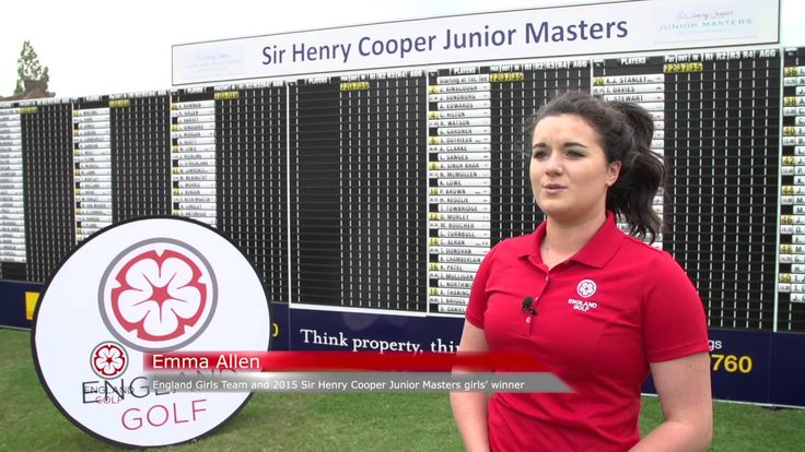 Charley Hull and England Golf squads - Why I love golf