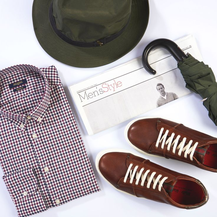 """Life isn't about waiting for the storm to pass. It's about learning to dance in the rain."" Featuring ‪#‎delsiena‬ twill shirt, ‪#‎doria1905‬ rain hat and brown leather sneakers by ‪#‎wallywalker‬ Shop all on the store: www.tieapart.com ‪#‎outfit‬ ‪#‎manstyle‬ ‪#‎undertherain‬ @doria1905 @delsienagroup"