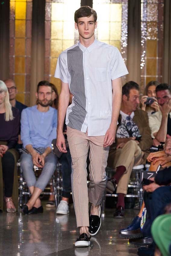 MMU S/S 2015 - N°21 See all fashion show at: http://www.bookmoda.com/?p=17622 #summer #SS #catwalk #fashionshow #menswear #man #fashion #style #look #collection #milan #fashionweek #n21