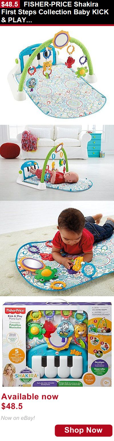 Baby gyms and play mats: Fisher-Price Shakira First Steps Collection Baby Kick And Play Piano Gym Ckl80 New BUY IT NOW ONLY: $48.5