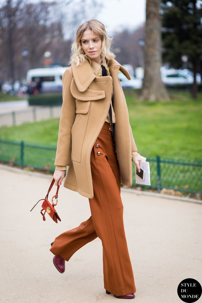 How to Wear Wide Leg Pants in Winter Like a Fashion Blogger | StyleCaster: