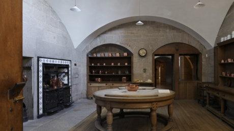 """Castle Drogo_The """"famous"""" Lutyen's kitchen we all copied in grad school."""