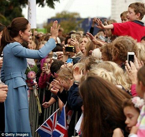 New zealand tour , duchess of cambridge