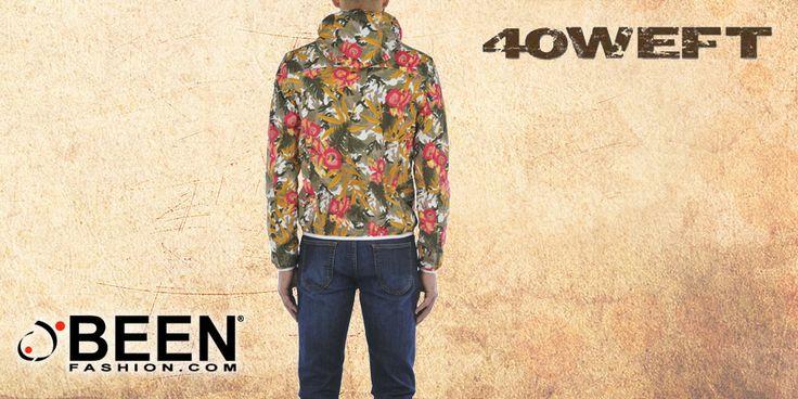 Vintage, used style, trendy, fashion: un floreale eccentrico che racchiude grandi stili. K-WAY #40WEFT, solo su #BeenFashion http://www.beenfashion.com/it/40weft-k-way-stampato.html?utm_source=pinterest.com&utm_medium=post&utm_content=40weft-k-way-stampato&utm_campaign=post-prodotto