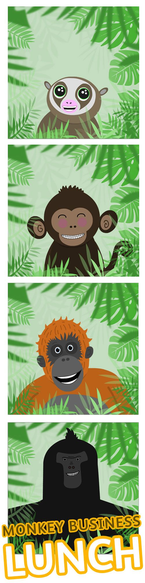 Say hello to Cutey, Chimper, Rangy and Big G, the stars of our new online game, Monkey Business Lunch. Can you feed them their favourite foods before they get too grumpy? Watch out for those pesky Venus Fly Traps, which will try to grab anything they can!  The game was inspired by ideas and drawings created by Trinity Primary School in #Edinburgh and you can play it on a desktop, mobile or tablet. Have a go here:  http://www.nms.ac.uk/monkeybusinesslunch
